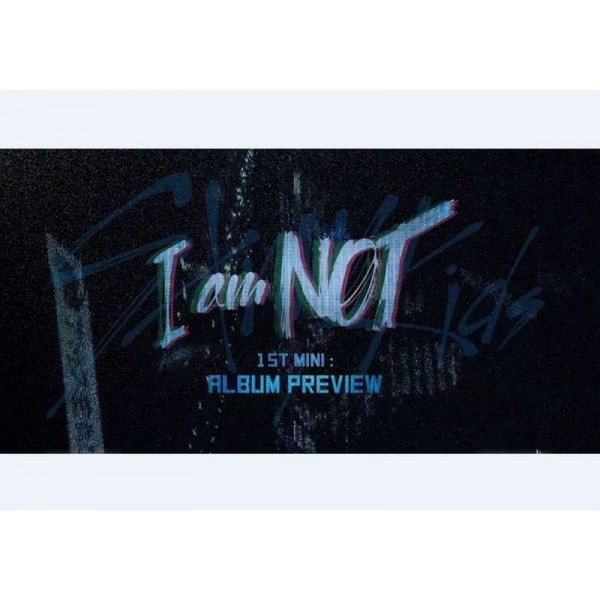 K-POP STRAY KIDS 1st Mini Album [I am NOT] CD+Photobook+Photocard+